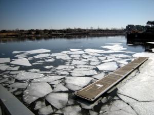 La glace fond