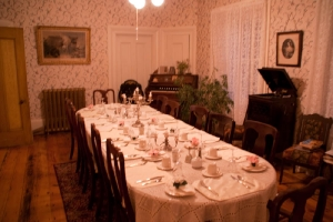 6- La salle à diner