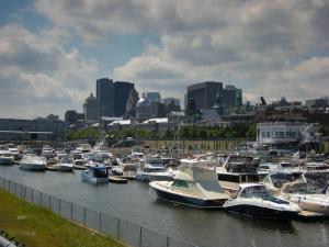 Le yatch club de Montréal, dans le Vieux-Port