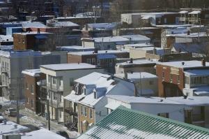 les toits, vus de notre hôtel