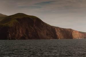 des falaises