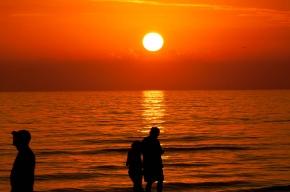 Coucher de soleil à Madeira Beach