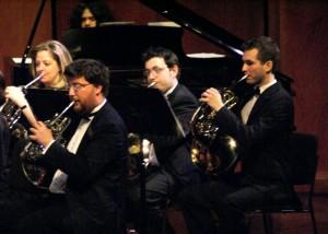 Le groupe des cors. Le meilleur, c\'est celui à qui vous pensez, bien sûr!